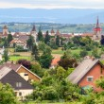 Murten old town and castle, Switzerland — Stock Photo