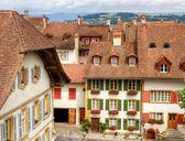 Old town Murten, Switzerland — Stock Photo
