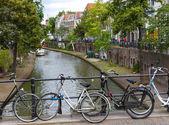 Canal in Utrecht, Netherlands — Stock Photo