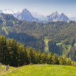 Alpine mountain landscape, Switzerland — Stock Photo