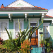 Bungalow style New Orleans villa — Stock Photo