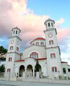 Kościół w mieście berat — Zdjęcie stockowe