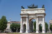 Arc de triomphe de milan — Photo