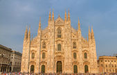 Cathedral of Milan, Italy — Stockfoto