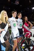Team Keller Küng celebrate victory — Stock fotografie