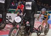 Stayer race at Sixday-Nights Zürich 2011 — Stock fotografie
