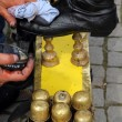 Stock Photo: Shoe shine