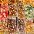 Stock Photo: Tray of turkish sweets