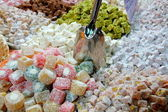 Lavish turkish sweets — Stock Photo
