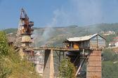 Construção industrial em kosovi — Fotografia Stock