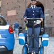 Police on segway roller — Stock Photo #8100028