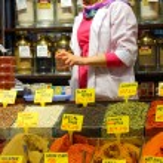 Istanbul spice market — Stock Photo #8165561