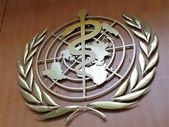 シンボル国連の保健機関 — ストック写真