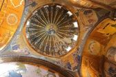 Famous mosaic in Chora church — Stock Photo