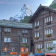 Zermat with Matterhorn Switzerland — Stock Photo