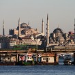 Istanbul seen from the water — Stock Photo