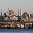 Istanbul seen from the water — Stock Photo #8179450