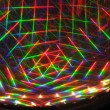Abstract laser beams — Stock Photo