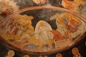Famous painting in Chora church — Stockfoto