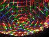 Abstract laser beams — Stock Photo