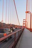 ゴールデン ゲート ブリッジ、サン、サンフランシスコ、午後, 日照, 周囲, 湾 — ストック写真