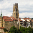 Foto Stock: Old town of Fribourg, Switzerland