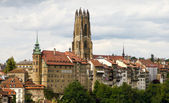 Old town of Fribourg, Switzerland — ストック写真
