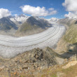 Foto Stock: Aletsch glacier, Switzerland
