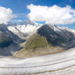 Aletsch glacier, Switzerland — Stock fotografie