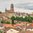 Old town of Fribourg, Switzerland - Foto de Stock