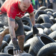 Fisherman's Friend Strongman run 2012 — Stock Photo
