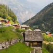 Stock Photo: Village Saas Balen, Switzerland