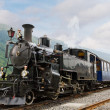 Vintage steam train — Stock Photo #9536392