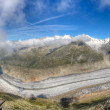 Aletsch glacier panorama, Switzerland — Stock Photo