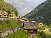 Village Saas Balen, Switzerland — Stock Photo