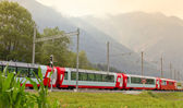 Glacier express train, Switzerland — Stock Photo