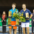 Leconte (r.) and Cagninat Zurich Open 2012 — Stock Photo #9713490
