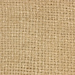 Natural textured burlap sackcloth hessian texture coffee sack — Stock Photo #8300937