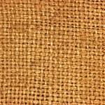 Natural textured burlap sackcloth hessian texture coffee sack — Stock Photo #8300962