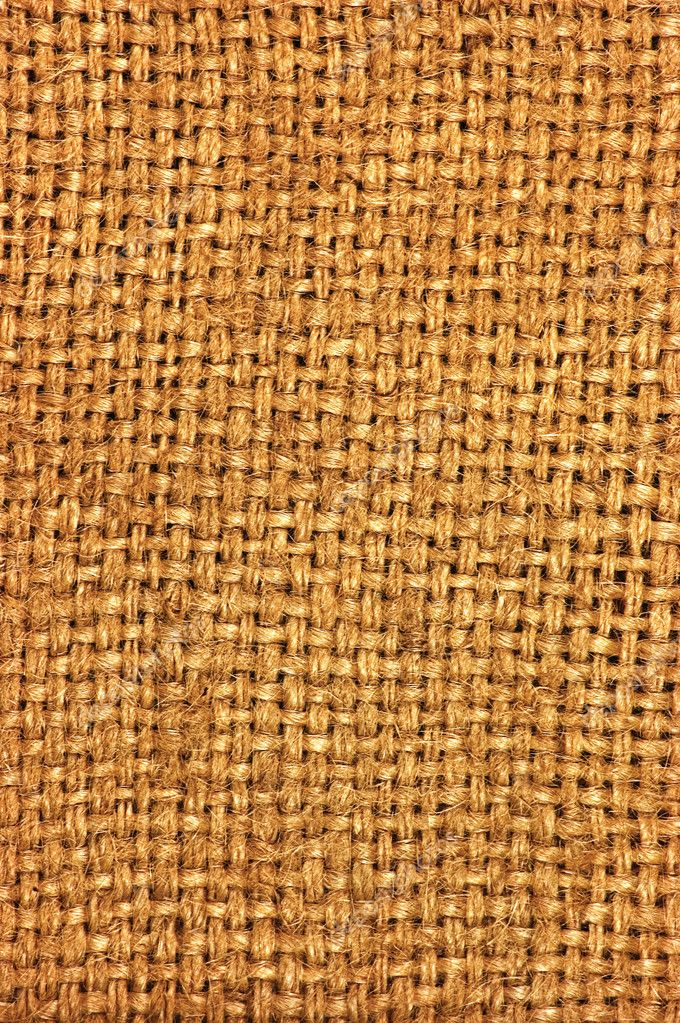 Natural textured burlap sackcloth hessian texture coffee sack, dark country sacking canvas, macro background — Stock Photo #8300972