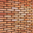 Royalty-Free Stock Photo: Grunge Red yellow beige tan fine brick wall texture background