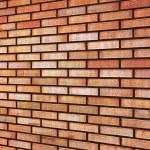Grunge Red yellow beige tan fine brick wall texture background — Stock Photo #9234287
