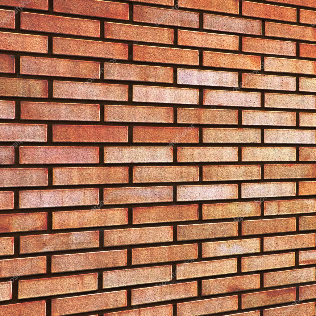 grunge rouge brique fine tan beige jaune mur texture fond — Photographie Kaspri © #9234285
