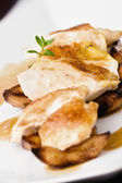 Roasted Chicken closeup — Stock fotografie