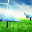 Green energy installation — Stock Photo #8341664