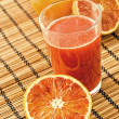 Sicilian orange Juice - Stock Photo