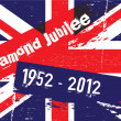 Jubilee Flag — Stock Photo