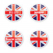 Jubilee Buttons — Stock Photo