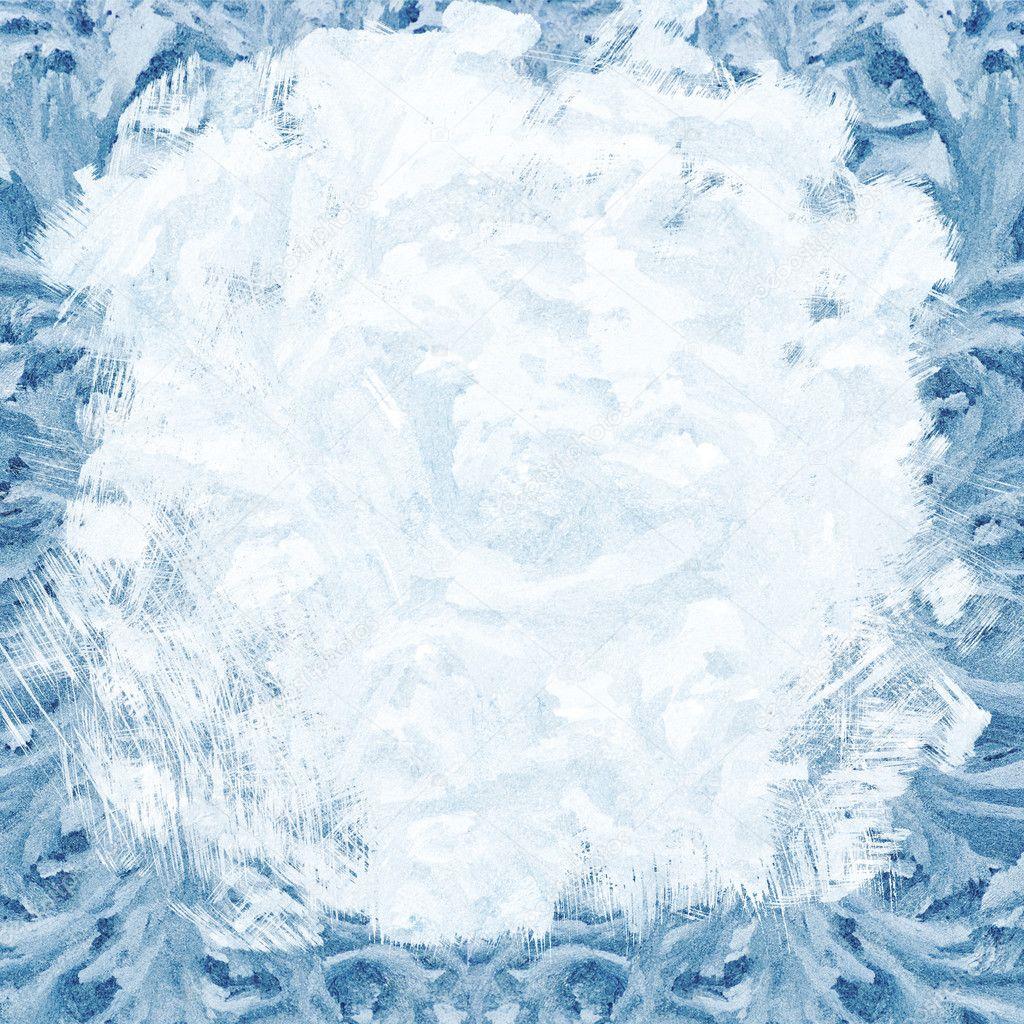 Frosty Background Frosty background - stock