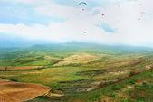 Hills landscape — Стоковое фото